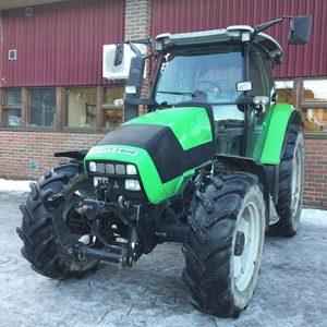 Vihree musta traktori