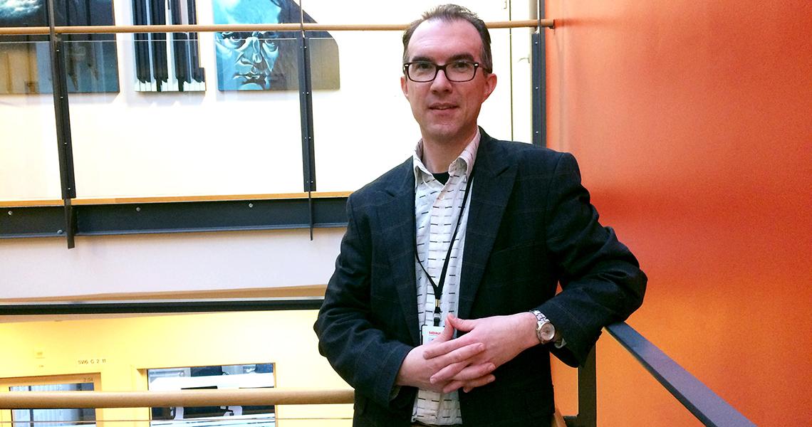 Englannin kielen opettaja Craig Donald
