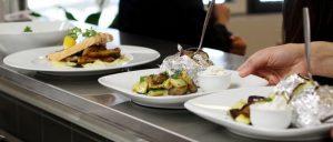 Ravintola Haaveen lautasannoksia