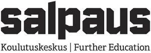 Musta-valkoinen logo nettisivuille ja sähköisiin esityksiin.