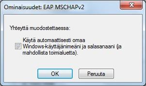 win8 wlan älä käytä automaattisesti windows-käyttäjänimeä