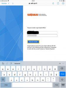 Office 365 -mobiilisovellusten määritys - Koulutuskeskus Salpaus