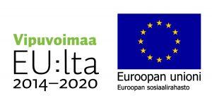 Vipuvoimaa EU:lta ja ESR -logot