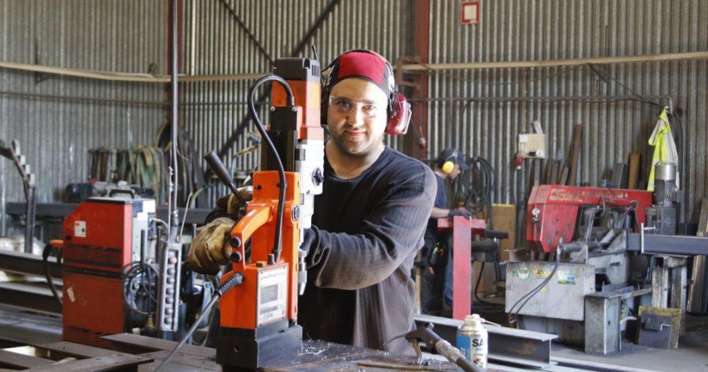 Rafael de Oliveira työskentelee