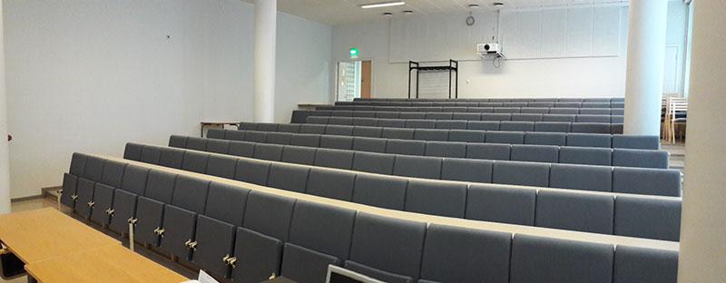 Auditorio Ståhlberginkatu 4A.