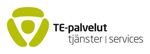 TE-palveluiden logo