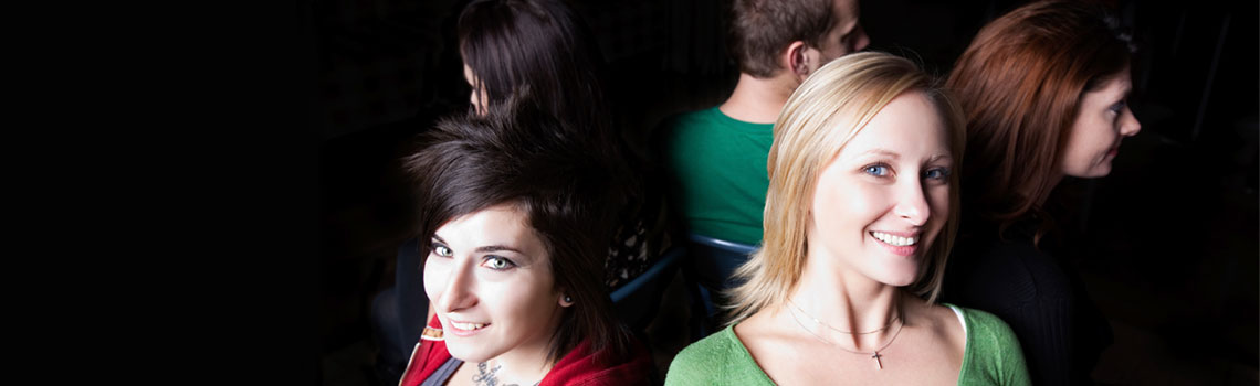 Salpauksen opiskelijat istuvat ympyrässä