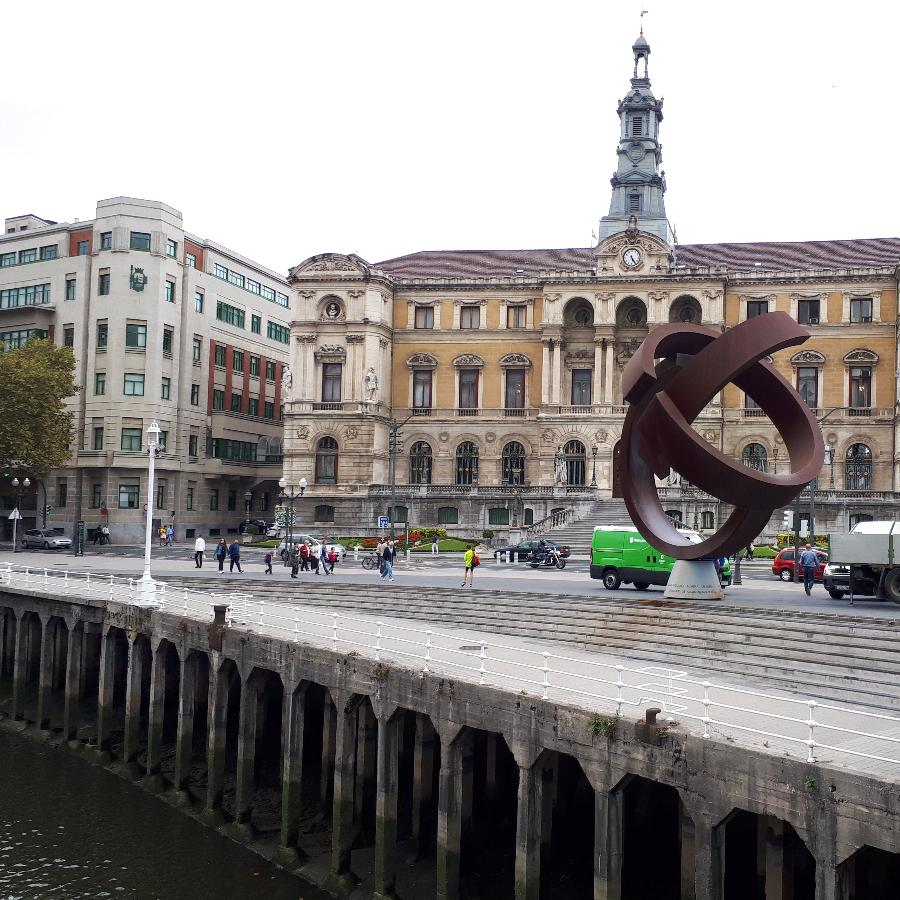 Bilbaon kaupunkimaisema.