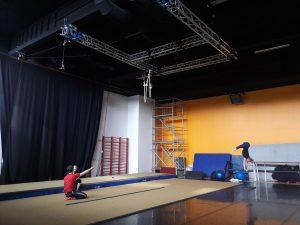 Sirkuskeskuksen sirkusstudio