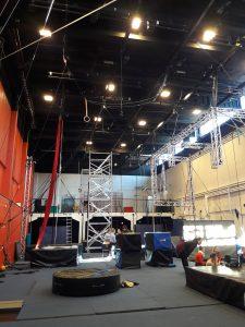 Sirkuskeskuksen sirkussali
