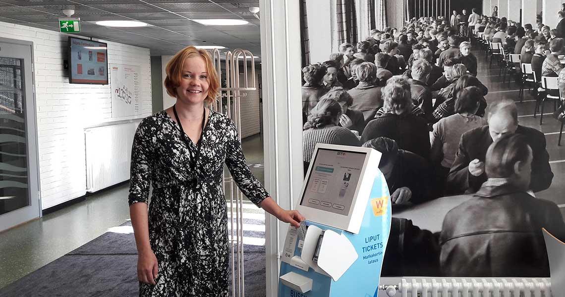 Automaattia testataan Svinhufvudinkadulla