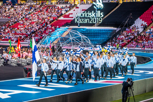 World Competition suomen joukkue.