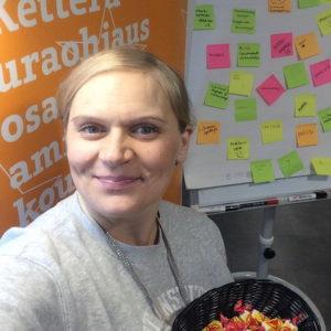 Suomen urheiluopiston palveluständillä keskusteltiin unelma-ammatista.