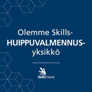Huippuvalmennusyksikkö -logo.